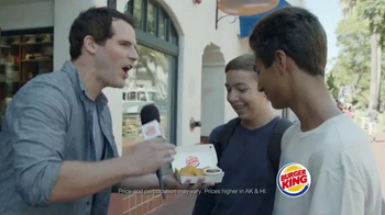 Burger King Chicken Nuggets TV Spot, 'Street Interview' - Thumbnail 5