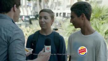 Burger King Chicken Nuggets TV Spot, 'Street Interview' - Thumbnail 6