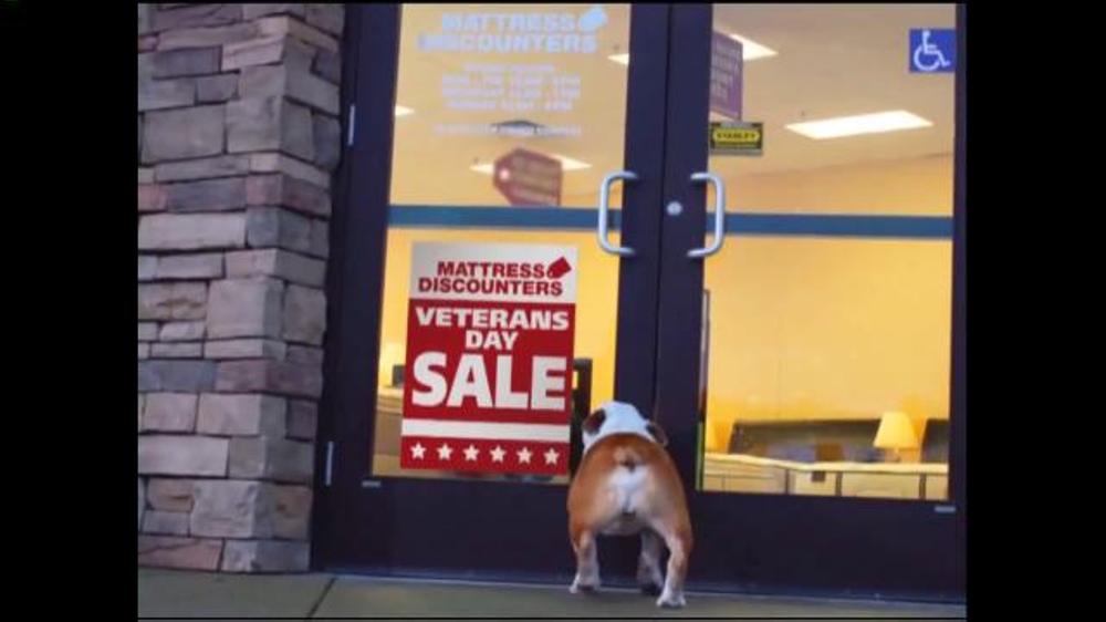 Mattress Discounters Veterans Day Sale TV mercial Oh