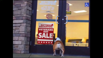 Mattress Discounters Veterans Day Sale TV Spot, 'Oh Boy! What's This?'