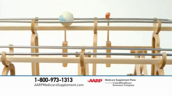 AARP Health Medicare Supplement Plans TV Spot, 'Get The Ball Rolling' - 12493 commercial airings