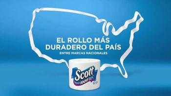 Scott 1000 TV Spot, 'El rollo más duradero del país' [Spanish]