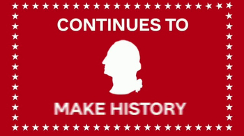 Ashley Presidents Day Furniture and Mattress Event TV Spot, 'Make History'