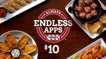 TGI Friday's Endless Apps TV Spot, 'Back for Good'