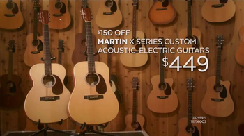 Guitar Center Presidents Day Weekend Sale, 'Acoustic-Electric Guitars'