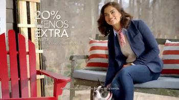 Macy's La Venta del Día de los Presidentes TV Spot, 'Cama y baño' [Spanish]