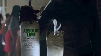 Absolut Lime TV Spot, 'Fresh Twist'