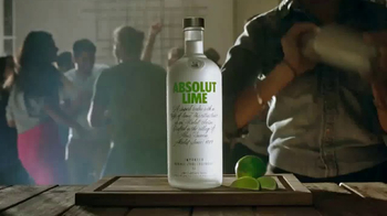 Absolut Lime TV Spot, 'Have A Lime Drop'
