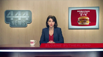 Wendy's 4 for $4 TV Spot, 'Double Stack Option: Flying Squirrels'