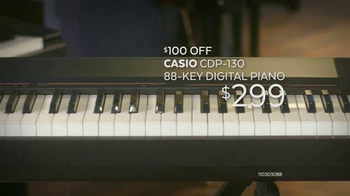 Guitar Center Presidents Day Weekend Sale TV Spot, 'Pianos & Speakers'