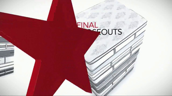 Macy's Presidents Day Mattress Sale TV Spot, 'Final Closeouts'