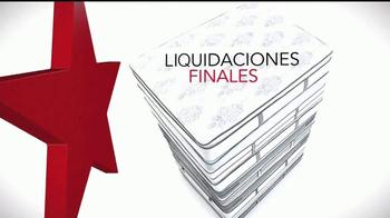 Macy's La Venta de Colchones TV Spot, 'Liquidaciones finales' [Spanish]
