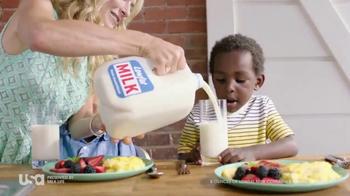 Milk Life TV Spot, 'USA Network: Breakfast' Featuring Cat Greenleaf