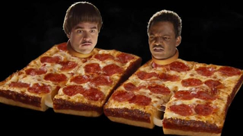 Little Caesars Stuffed Crust DEEP!DEEP! Dish Pizza TV Spot, 'Faces'