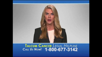 Heygood Orr And Pearson Tv Commercial Talcum Cancer