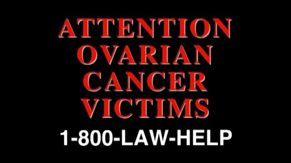 The Cochran Law Firm TV Commercial, 'Ovarian Cancer Victims' - iSpot.tv