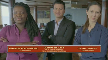 Royal Caribbean International TV Spot, 'Food Network: Chopped Open'