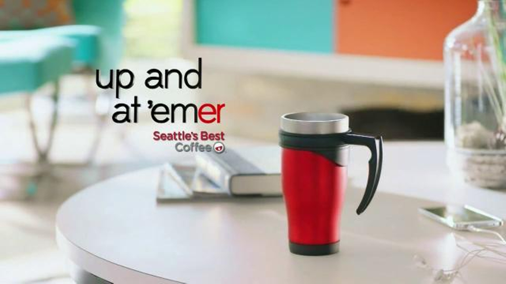 Seattle S Best Coffee Tv Commercial Up And At Em