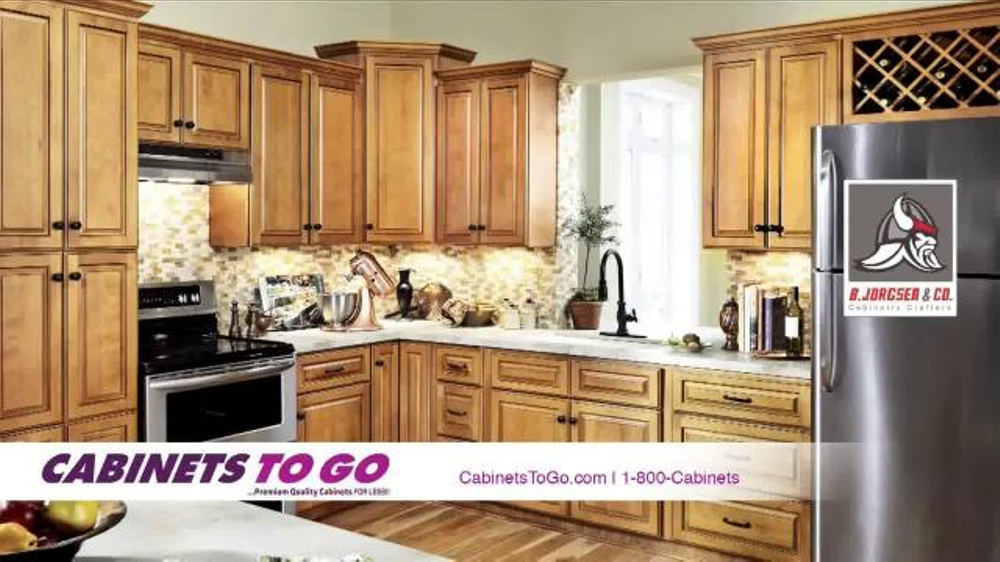 Cabinets to go tv commercial 39 make your dream kitchen a for Kitchen cabinets to go
