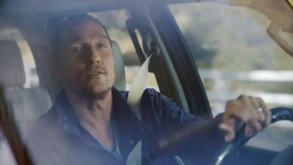 2016 lincoln navigator tv commercial 39 time to eat 4x2 39 ft matthew mcconaughey. Black Bedroom Furniture Sets. Home Design Ideas