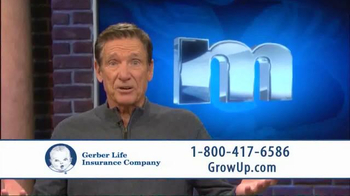 Gerber Life Insurance Grow-Up Plan TV Spot, 'Head Start' Ft. Maury Povich