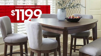 Ashley Homestore Columbus Day Sale TV mercial Room