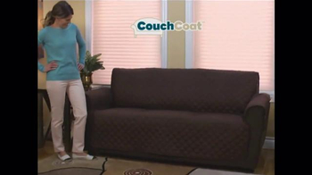 Couch Coat TV Spot, 'Reversible Couch Protector'