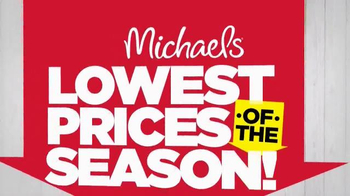Michaels Lowest Prices of the Season Sale TV Spot, 'Canvas and Frames'