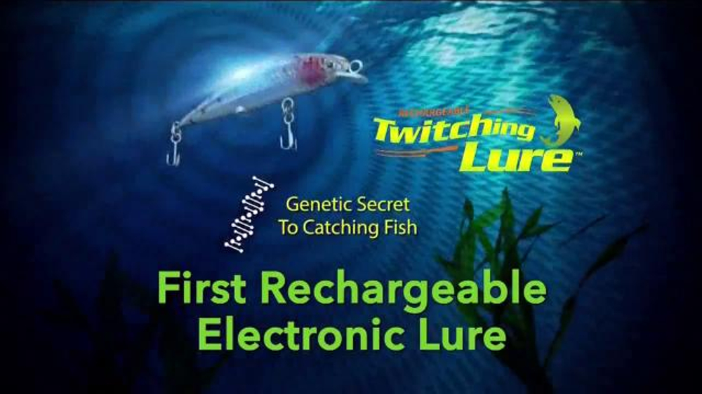 twitching lure tv commercial, 'too many fish' - ispot.tv, Reel Combo