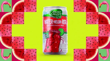 Bud Light Lime Water-Melon-Rita TV Spot, 'Kaleidoscope' Song by Nelly