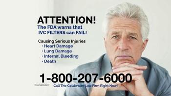 Goldwater Law Firm TV Spot, 'Blood Clot Filter'