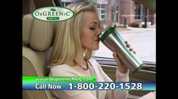 OrGreenic Mug TV Spot, 'Fresh Coffee All Day'