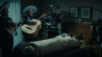 Nexium: Burrito and Mariachi Band