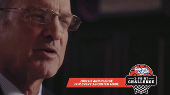 American Cancer Society TV Spot, '3-Point Challenge' Featuring Lon Kruger