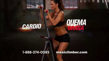 MaxiClimber TV Spot, 'Tonificación muscular' [Spanish]