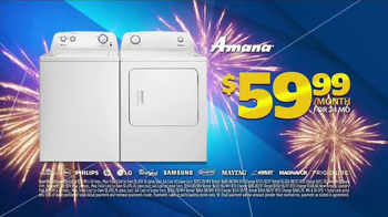 Aaron's Anniversary Sale TV Spot, 'Sectional, Bedroom & Laundry Pair'