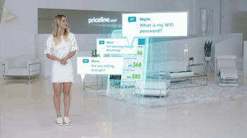 Priceline.com Express Deals TV Spot, 'Notifications' Featuring Kaley Cuoco
