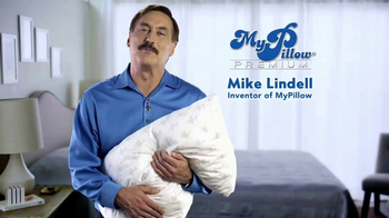 My Pillow Premium TV Spot, \'Tossing and Turning\'