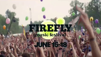 2017 Firefly Music Festival TV Spot, 'Fuse: 2017 Lineup' - 261 commercial airings