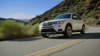 2017 BMW X3 xDRIVE28i TV Spot, 'Keep It Clean'