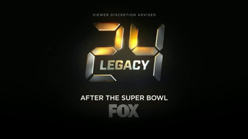 FOX: 24: Legacy Super Bowl 2017 TV Promo: The Clock Resets