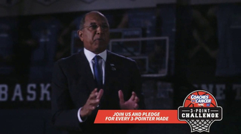 Coaches vs. Cancer TV Spot, '3-Point Challenge' Featuring Tubby Smith