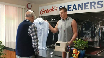 Tide Super Bowl 2017 Teaser, 'Customers Come First at Gronk's Cleaners'