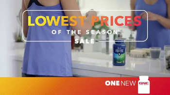 GNC Lowest Prices of the Season Sale TV Spot, 'Biggest Savings'