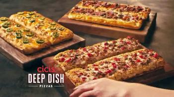 Three Deep Dish Pizzas thumbnail