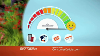 Consumer Cellular TV Spot, 'Be Happy with Consumer Cellular!'