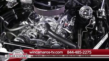2017 Camaro Dream Giveaway TV Spot, 'Burnouts & Horsepower'