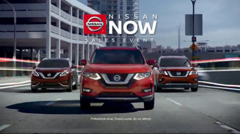 Nissan Now Sales Event TV Spot, 'The Choice is Clear'