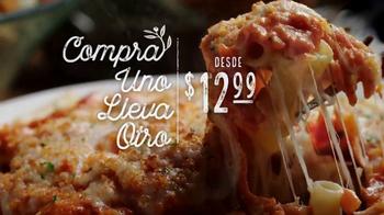Olive Garden Compra Uno, Lleva Otro TV Spot, 'Tiempo en familia' [Spanish]