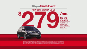 Toyota 1 for Everyone Sales Event TV Spot, '2017 Highlander LE' - Thumbnail 6